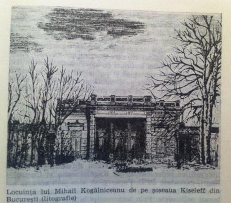 kiseleff - casa Kogalniceanu
